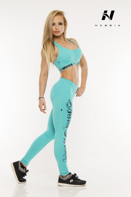 Спортивные леггинсы NEBBIA PUSH UP BLUE выбрать и купить по приятной ... 6b45f001ef779